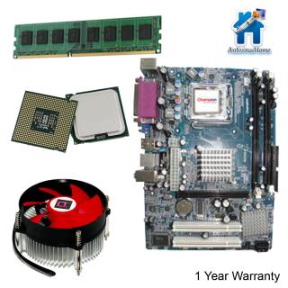 Intel Core 2 Due 1.8 + G41 MotherBoard + LT CPU Fan + 2GB DDR3 RAM Bundle