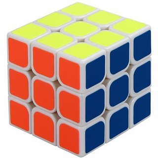 RUBIK Cube 3 x 3 Puzzle  - Extra Smooth High Speed with sticker