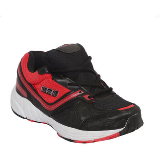 Hi Speed 0003 Men Black, Red Sports Shoes