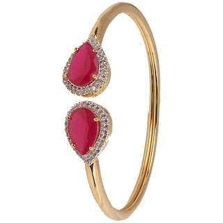 Beautiful Designer cuff Bracelet With Cz Stone(D3065)