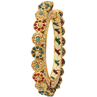 Excellent designer Bracelet with Meena  Pearl(D3100)