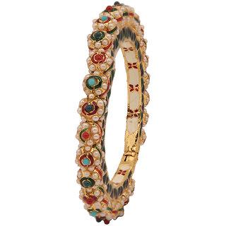 Excellent designer Bracelet with Meena  Pearl(D3101)