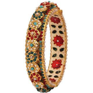 Excellent designer Bracelet with Meena  Pearl(D3103)