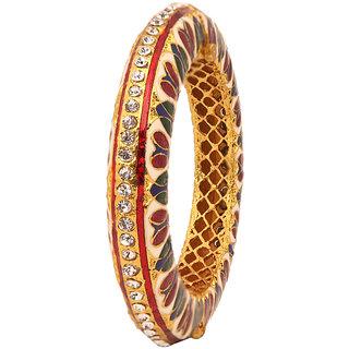 Excellent designer Bracelet with Meena  Pearl(D3105)