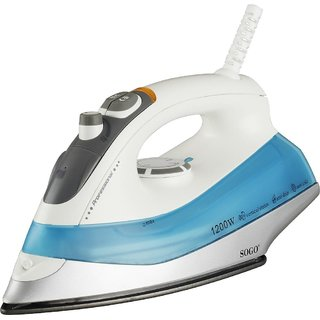 Sogo SS-6220 Electronic Steam Iron Box, 1200 W