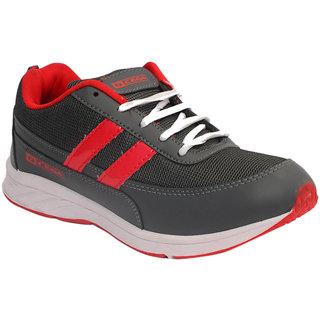 Xpert Cega1 Men Grey, Red Sports Shoes