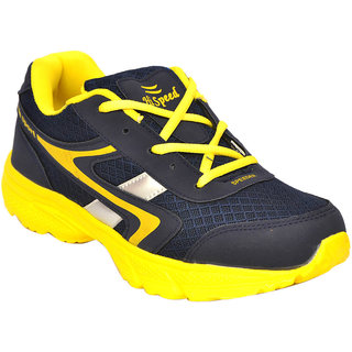 Hi Speed 809 Men Blue, Yellow Sports Shoes