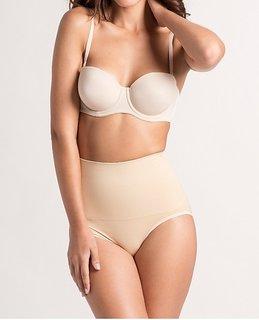 Body Shapewear Tummy Tucker Lingerie Skin / Nude/ Beige Colour Womens Clincher L