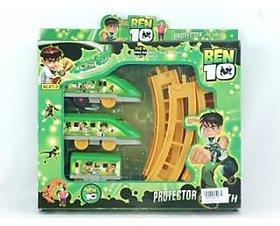 ben 10 train toys