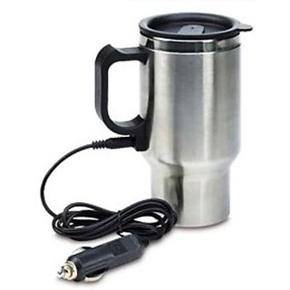 Andride Universal Car Heater Mug With Car/USB Charger