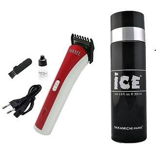 Maxel Trimmer + Ice Deo