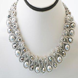 silver neckpiece