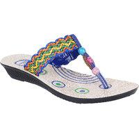 Bersache Multicolor-911 Womens/Girls Sandals  Floaters