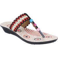 Bersache Multicolor-916 Womens/Girls Sandals  Floaters