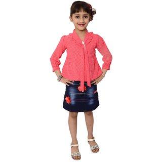4329997e052c Buy Meia for girls Red Midi dress Online - Get 63% Off