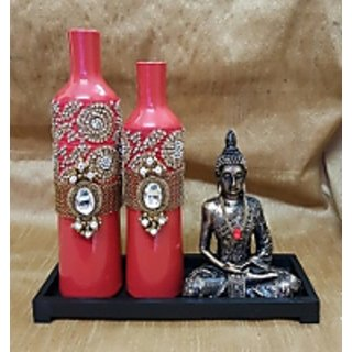 Bottle n Buddha Cherry Red Collection