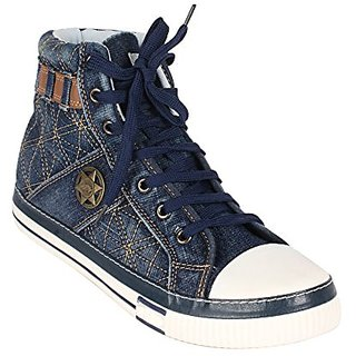 Buy Mens Canvas Shoes Jeans Fabric