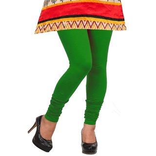 deadc928ad2ff Buy WomenS Cotton Lycra Legging Green Colour Online @ ₹500 from ...