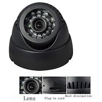 CCTV Camera ZVision DOME 24 IR Night Vision CCTV Camera DVR With Memory Card Slot
