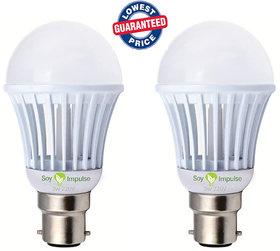 Epistar 15 W White Led Bulb (Set Of 2)