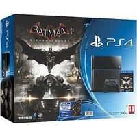 Sony PlayStation 4 (PS4) 500 GB With Batman Arkham Knight Bundle