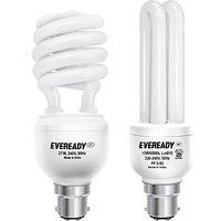 POWERENGINEERS 27 W, 15 W CFL  Bulb(White, Pack of 2)