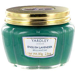Yardley English Lavender Brilliantine Hair Pomade 80g yardley lavender