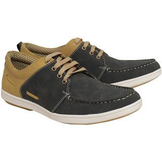 Rozzana Men Blue  Beige Shoes