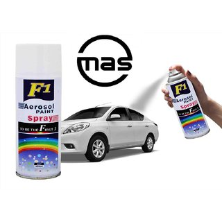 AEROSOL SPRAY PAINT WHITE FOR MULTIPURPOSE(CAR,BIKE,CYCLE,ETC(White)