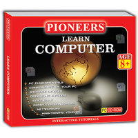 BRANDED PIONEERS - Learn Computers Age 8+ Years Educational CD For Kids
