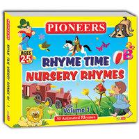 PIONEERS-Rhyme Time Nursery Rhymes Vol. 1  50 Animated Rhymes Kids Cd