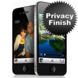 Privacy Screen Protector For Apple Iphone 4 4s With You Get Matte Screen Guard Free Free Worth Rs 90
