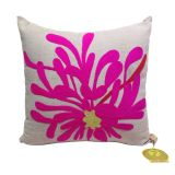Reme Floral Embroidered Cushion Cover