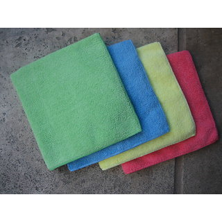 3 MICROFIBER : Multi Purpose Cleaning Towels, Detailing / Cleaning 33x65 cms