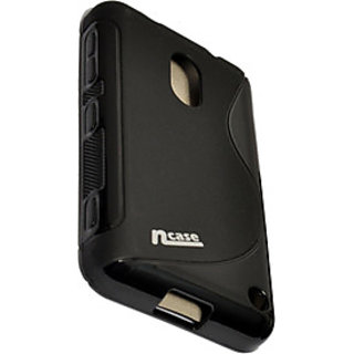 ncase PFBC-8561BK Back Cover / Case for NOKIA LUMIA 620 (BLACK) Fashion Back Cover with grip on both sides of cover