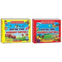 PIONEERS-Rhyme Time Nursery Rhymes Vol. 1  2  100 Animated Rhymes Kids CD