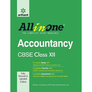 Cbse All In One Accountancy Class 12Th