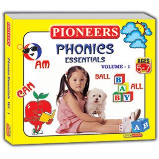 PIONEERS - PHONICS ESSENTIAL VOL  1  Age - 5-7yrs Kids Educational CD for Phonics