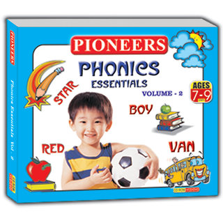 PIONEERS - PHONICS ESSENTIAL VOL  2  Age - 5-7yrs Kids Educational Cd for Phonics