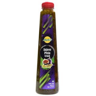 Malvis Dry Fig Pulp And  Pistachio Crush, 1000 ml