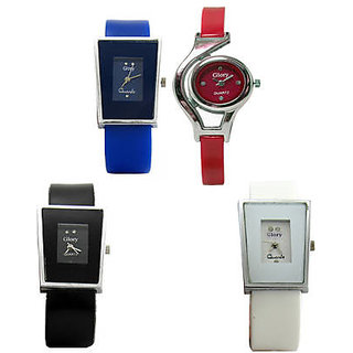 4 PIECES GLORY WATCH WITH SPECIAL OFFER