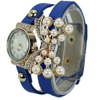 Women Wadding Butterfly Analog Bracelet watches