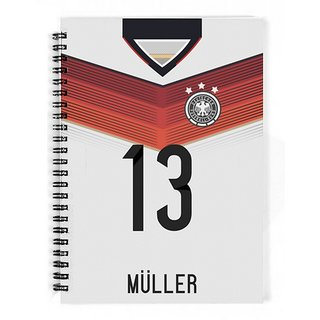 The Fappy Store Germany Mller Shirt Style Notebook