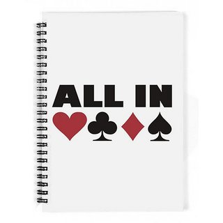 The Fappy Store All In Poker Notebook