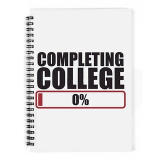 The Fappy Store Completing College-Progress Bar Notebook