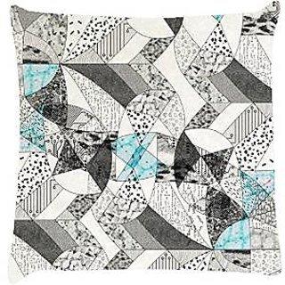 Snoogg abstract math Digitally Printed Cushion Cover throw pillows 12 x 12 Inch