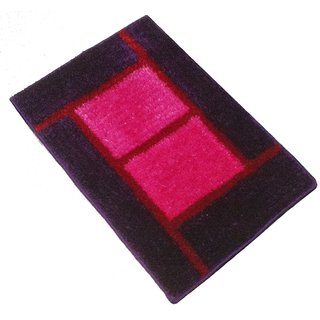 GHT-Luxurious Pink/Purple Door Mat - 1001