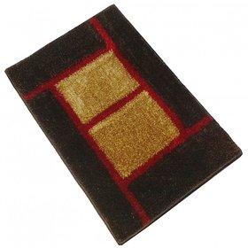GHT-Luxurious Brown/Beige Door Mat - 1002