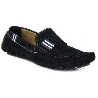 SATMARC Wesley Black Men Loafers