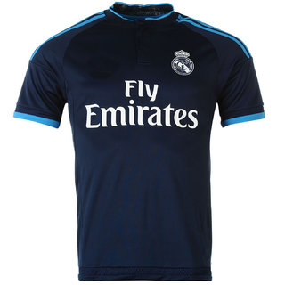 Sleeves Online Half Shopclues Madrid Real Navy Buy Blue Jersey ₹399 From